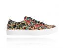 Sand Flower Sneakers, Sand, Flower, Sneakers, Lureaux, Colorful, Shoes, Print, Beige