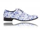 Blue Flowerbed