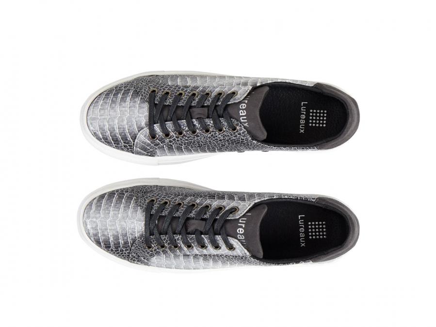 Gray Dino Sneakers